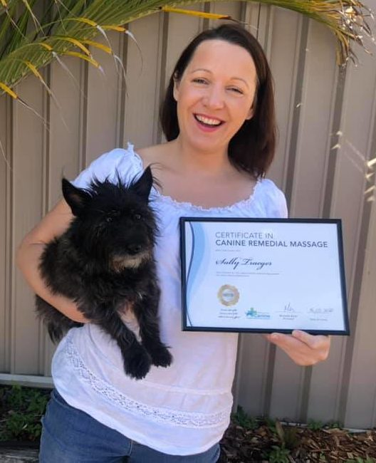 Canine remedial therapy massage for dogs